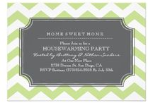 party invites & stationary / by Annat