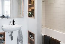 Vision Board: Bathroom / Practical, luxury, warm, Art Deco