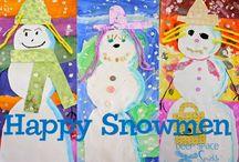 Elem Art - Christmas/Winter / by Courtney Jones