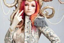 Make-up: Headdress