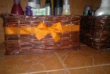 moje výrobky z papírových ruliček