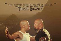 Dwayne johnson i Vin Diesel