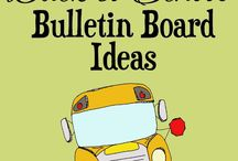Bulletin boards / Back to school