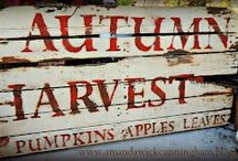 Lovely Autumn things