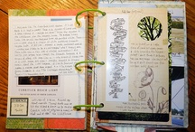 journals/notebooks / by Rhonda Stuart