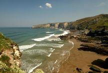 North Cornwall Coastal Art / North Cornwall seascapes and landscapes