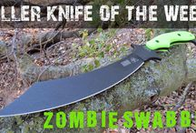 """Killer Knife of the Week / OsoGrandeKnives has the best selection of knives on the planet!  Each week we select a """"Killer Knife of the Week"""" to post on this board. Follow us and don't miss out on these awesome blades."""
