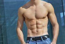 Male Model: Giovanni Bonamy / French Male Model Giovanni Bonamy