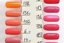 Color swatch / Nasze wzorniki lakierów / Sprawdź, jak wyglądają kolory lakierów hybrydowych Cosmetics Zone w świetle dziennym