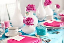 pink-blue wedding