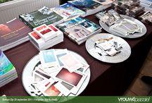 Bijeenkomsten, beurzen en evenementen / A3 boeken organiseert bijeenkomsten met auteurs en staat ook regelmatig met een kraam op beurzen en andere evenementen.