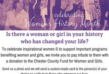 Women Making History / March is Women's History Month!