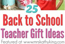 Back To School Ideas / Looking for a Back To School Ideas? Well, you will find it here from teacher gifts, lunch box ideas, Disney school supplies and more.