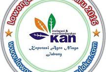Lowongan Kerja Koperasi Agro Niaga Jabung