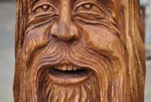 Wood carving / woodcarving