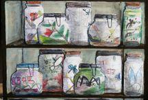 Science bug jars