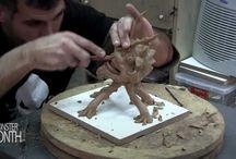 Modelagem e escultura