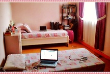 The Pink Room / Fab ideas for my Pink bedroom. :)