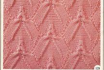 knitting pattern/kötésminták