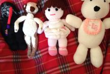 Supergran's  toys / Knitted toys
