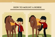 horse riding poster