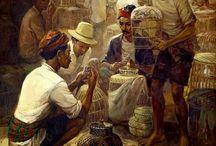 Indonesian Art (1)  by Rustamadji / Pasar Barung