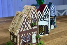 Tonic Studios // Tudor Town Die Sets / The Tudor Town is alive this Christmas! Make your dream Christmas a reality with the brand-new George & Dragon & Toy Emporium Die Sets by Tonic Studios.