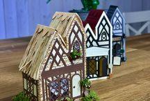 Tonic Studios - Tudor Town Die Sets