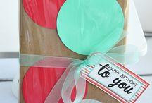 embalagens/ Gift wrap