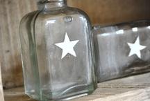 bottle, glasses, & co