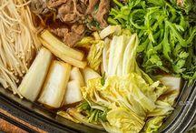 Healthy asian food recipe