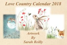 Artwork by Sarah Reilly Love Country UK Copyright Protected / Gorgeous heartwarming paintings by Suffolk Artist Sarah Reilly, of Love Country see full range on Etsy and at www.lovecountryuk.co.uk. Following Facebook for news and competitions