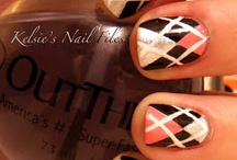 <3 Nails - Patterned <3 / Patterns of all types! Argyle, Plaid, Houndstooth, checkerboard, and on and on... / by April McMillan