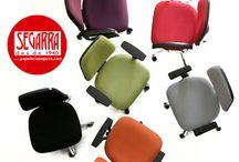 sillas de oficina de colores / ¿Te aburres en la #oficina? Ponle color a tus horas de trabajo con #muebles y #sillas de oficina de colores #blog http://papeleria-segarra.blogspot.com.es/2016/05/color-en-la-oficina-sillas-de-oficina.html