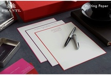 Briefpapier & Briefkarten · Writing Paper and Note Cards
