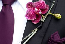 Buttonholes and corsage / by Helen Pearce