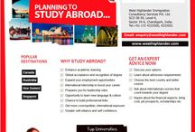 Study Abroad / West Highlander Immigration Consultancy Services Pvt. Ltd. is an ISO 9001-2008 Certified Overseas Education and Career Counselling Consultancy.