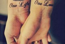 Couple tattoos!!!  / by ρнуℓι¢ια_иσєℓ