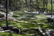 Outdoor Golf Greens