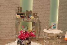 Decorando un plató de televisión / Decoración de espacios por www.virginiaesber.es
