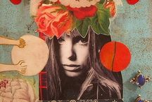 Collage, Mixed Media / collage, mixed media, texture, art, decoupage, creative life, creative living,