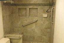 Handicapped shower / by Donna Hilditch