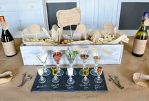 Food Table Ideas for Parties / Make a food table the focal point of your next party and set up a bar where your guests can help themselves. These awesome buffet style ideas will have all the party guests going back for a second, a third, and probably a fourth helping. / by Birthday in a Box