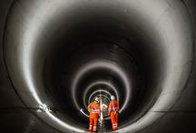 2016 Outright Winner - Lee Tunnel project, Beckton, London / The Lee Tunnel project consists of five shafts with the diaphragm walls being 90m deep (the deepest undertaken in the UK). Connecting the shafts is a 7km tunnel, which is 7.2m in diameter. The concrete had steel-fibre reinforcement and was placed in 'full round' sections to form a secondary lining.
