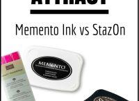 Cards - Memento Inks