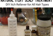 Hair scalp