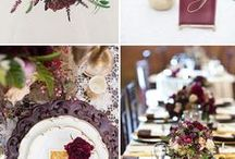 plum wedding ideas