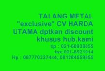 """Talang Metal Jakarta Selatan 087770337444 / TALANG METAL 081284559855,,087770337444  TALANG METAL Jakarta Selatan """"exclusive"""" CV HARDA UTAMA Talang Metal (Water Gutter) Metal baja Untuk urusan Talang, Talang Metal yang satu ini puas pakai nya. Di banding kan dengan talang PVC, Talang Metal jauh lebih awet dan tahan lama. Aksesoris komplit dan pemasangannya mudah. CV.HARDA UTAMA """"melayani penjualan talang metal seluruh Indonesia"""""""