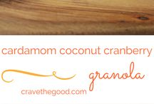Good Granola / A collection of yummy granola recipes! Many of these granola recipes are gluten free, dairy free, egg free, soy free, vegan, vegetarian, refined sugar free and processed food free!