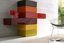 I colori nell'arredamento by Consigli D'arredo / Come scegliere utilizzare e abbinare i colori per rendere gli ambienti caldi, luminosi, accoglienti, equilibrati